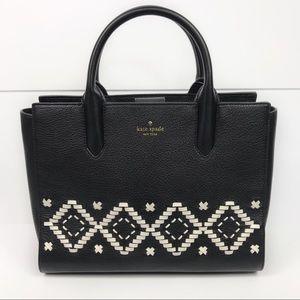 Kate Spade Meriwether Flynn Street Woven Handbag